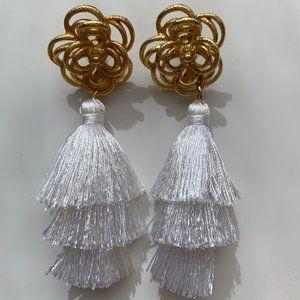 Susan Shaw Tassel Earrings